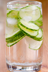infused water healthy alternative to soda