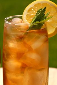 iced jasmine green tea spring time recipe