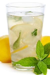 healthy mint lemonade recipe