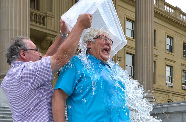 Ice Bucket Challenge – Raising Awareness of ALS