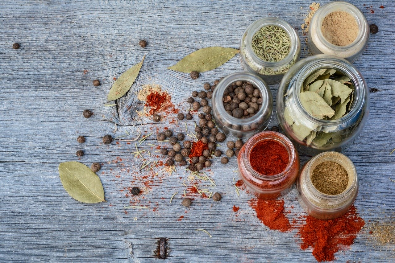 spices, jar, kitchen