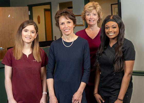 Dr. Nadia Akhmed team